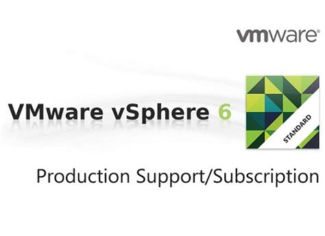 jual vmware support and subscription production