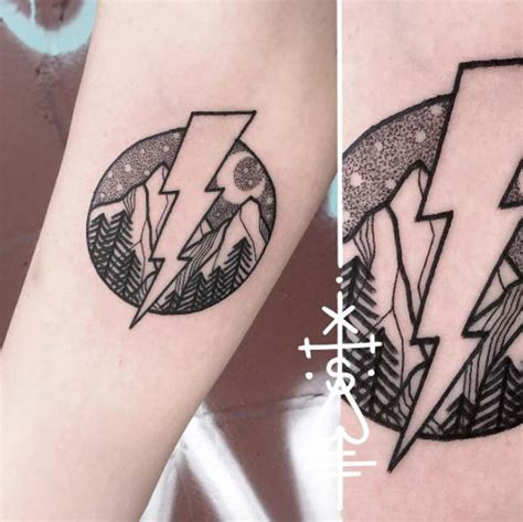 lightning bolt tattoos 46 fantastic forearm tattoos for with style