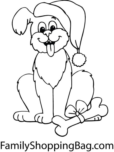 coloring pages dogs christmas puppy christmas coloring pages new calendar template site