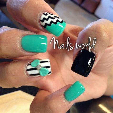 Jiuku Nail Purple Green White Glitter 63 100 awesome green nail designs