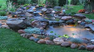 Small Backyard Koi Pond by Patio Koi Pond Hobbyist Of Ornamental Fish