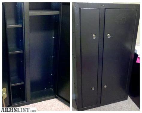 2 Door Gun Cabinet Armslist For Sale Homak Metal 2 Door Locking Gun Cabinet