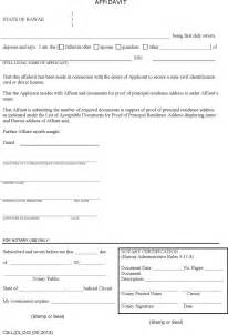 Commercial Affidavit Of Template by The Hawaii Affidavit For Proof Of Residence Form Can Help