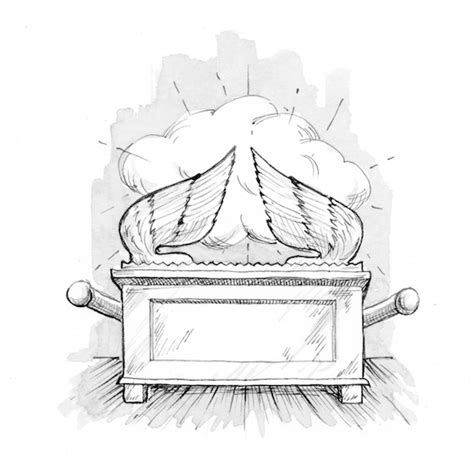 exodus 37 1 9 illustration the ark of the covenant