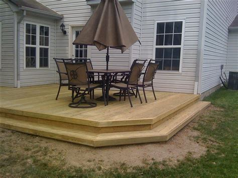 Decks His And Hers Construction Timber Patio Designs