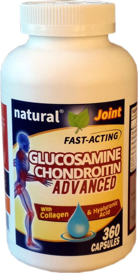 Puritan Hyaluronic Acid Collagen Glucosamine Chondroitinmsm joint glucosamine chondroitin advanced with