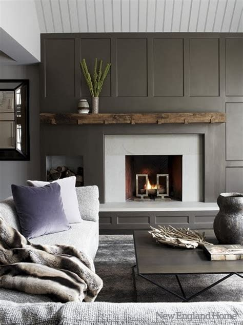 gray wall amazing gray paneled walls content in a cottage