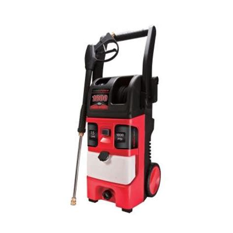 cleanforce 1800 psi 1 5 gpm heavy duty axial electric