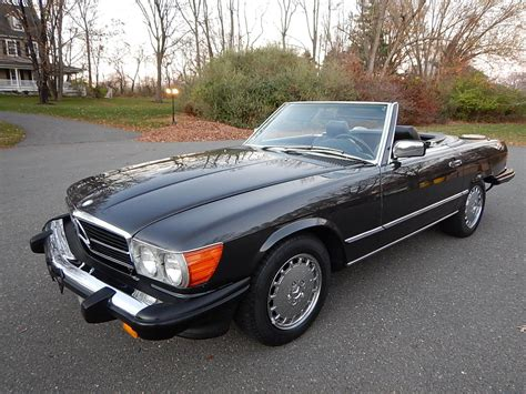 mercedes convertible 1989 mercedes 560 sl convertible for sale