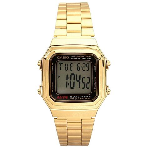 casio uomo oro orologio casio collection oro a178wga 1adf unisex