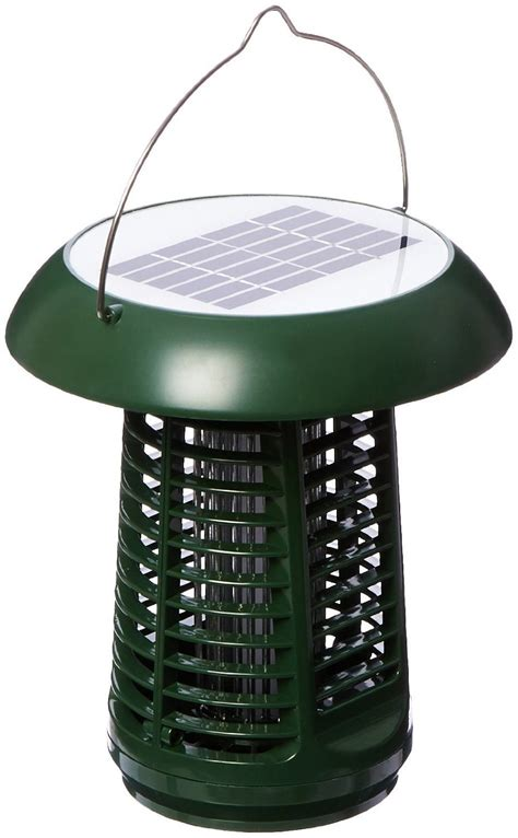 Outdoor Bug Lights Nk63 Solar Powered Uv Bug Zapper Insect Killer Led Garden L Included Ul Adapter Outdoor