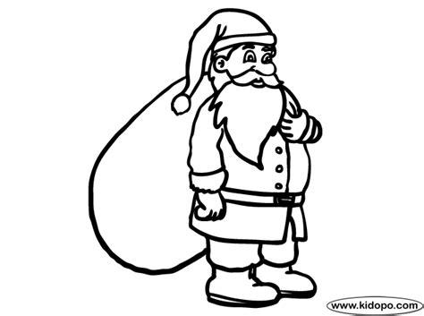 santa bag coloring page santa sack coloring page bebo pandco