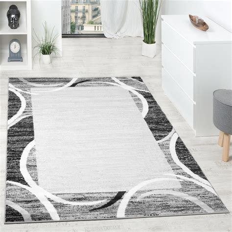 tappeto per salotto tappeto per salotto tappeto di design bordo m 233 lange grigio