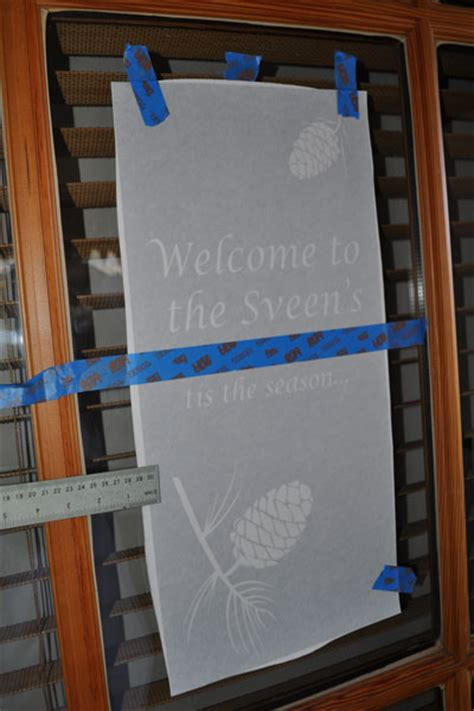 Etched Vinyl Projects - how to make etched glass vinyl designs for your windows