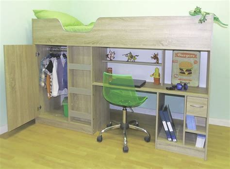 Childrens High Sleeper Beds With Wardrobe by 17 Best Ideas About High Sleeper On High Beds