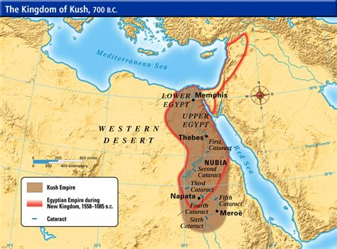 africa map kush the quot pyramids quot of the ancient kingdom of kush