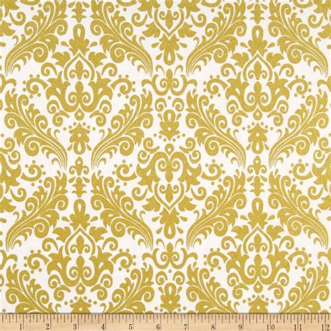 gold pattern material riley blake gold sparkle medium damask gold metallic