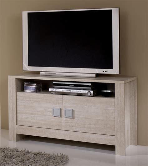 meubles tv meuble tv pisa chene blanchi soho