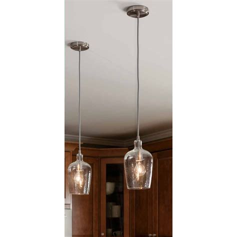 Small Pendant Lights For Kitchen Small Glass Pendant Lights Tequestadrum