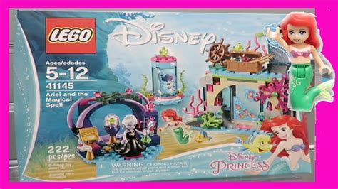 Lego Sy 948 Ariel And The Magical Spell Lego Disney Princess Ariel lego disney princess ariel and the magical spell ursula flounder the sea set mini doll
