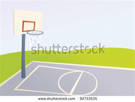 basketball court clipart outdoor basketball court clipart clipart suggest