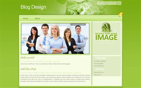 15 business wordpress themes dobeweb