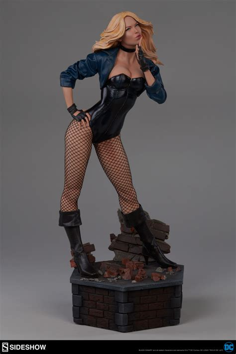 Dc Bust Black Canary dc comics black canary premium format tm figure by sideshow sideshow collectibles