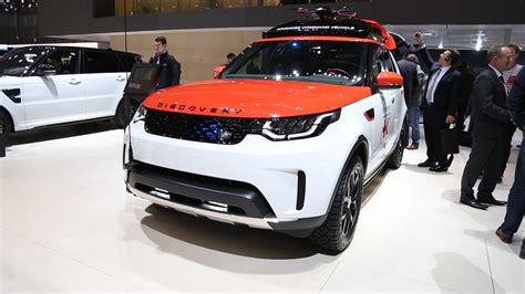 range rover velar svr женевский автосалон 2017 range rover velar svr discovery