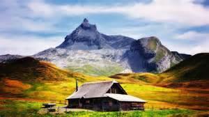 sfondo quot paesaggi baita montagna quot 1920 x 1080 paesaggi house in the mountain timebandits art fashion urban