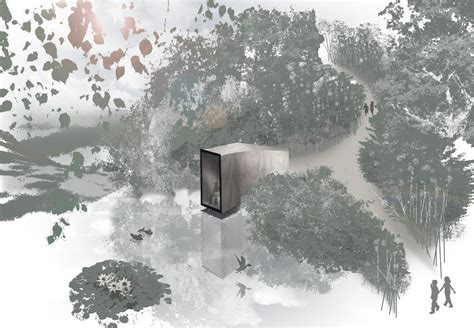 forest render gallery of forest pond house 17