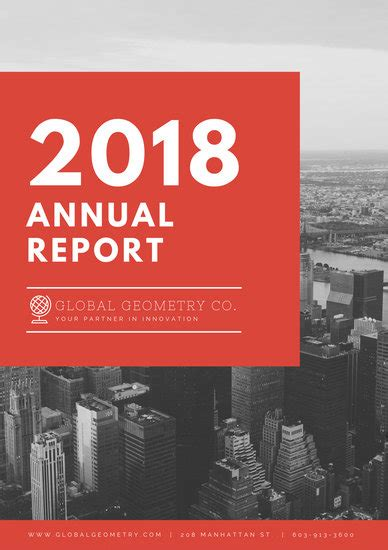 customize  annual report templates  canva