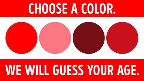 psychology color test a color test that can tell your mental age