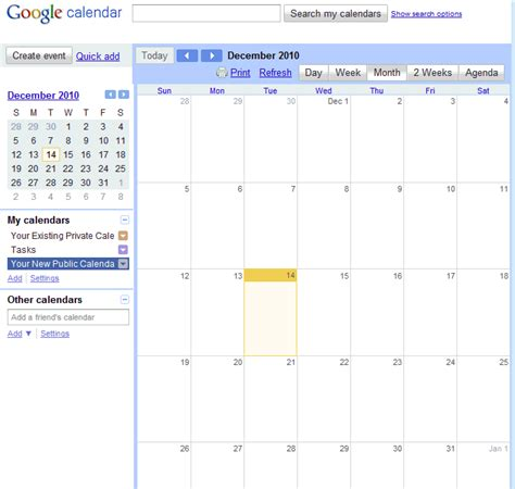 Hotmail Calendar How To Publish A Calendar Feed From Calendar Or
