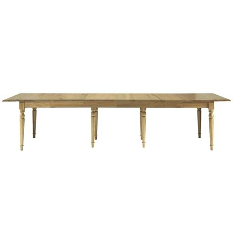 Extending Solid Oak Dining Table Solid Oak Extending Dining Table W 100cm Atelier Maisons Du Monde