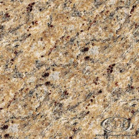 Country Kitchen Backsplash by Giallo Veneziano Gold Granite Kitchen Countertop Ideas
