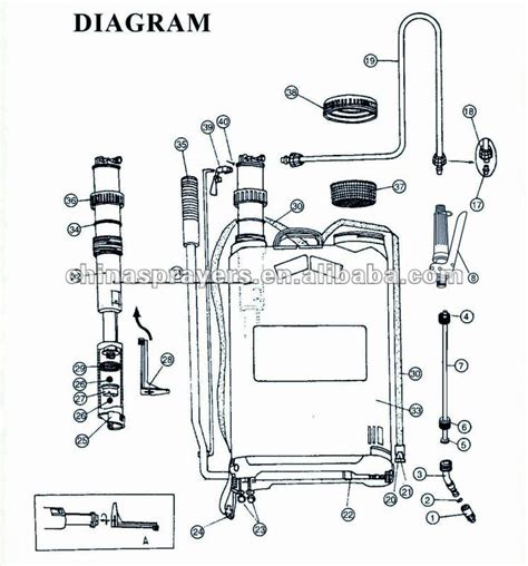 backpack sprayer parts diagram backpack sprayer parts diagram 28 images spare parts