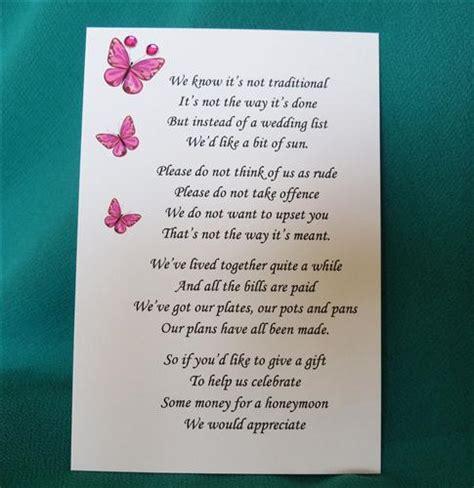 wedding invitation wording asking for money honeymoon wedding invitation wording wedding invitation wording