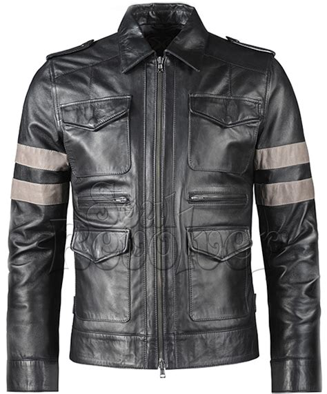 Fashion Korean Korean Fashion Jaket Leather Residen Evil resident evil 6 leather jacket replica style soul revolver