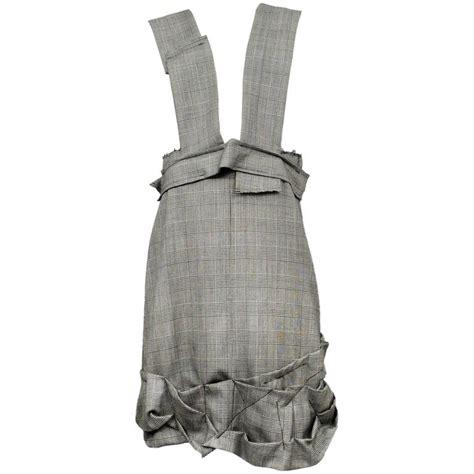 Jumper Check Dress comme des garcons check jumper dress for sale at 1stdibs