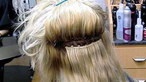 is sew hair extension strong enough for caucasian beaded in and sew in hair extensions youtube