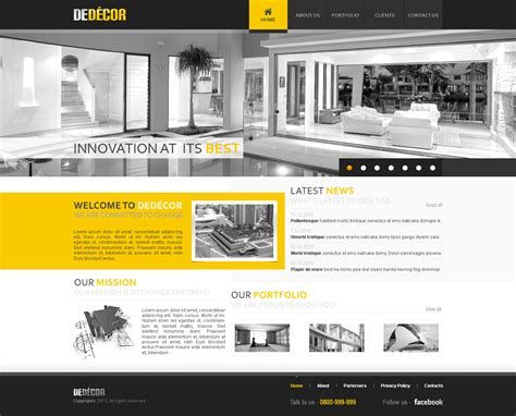 art design inspiration sites black and yellow web design web design inspiration