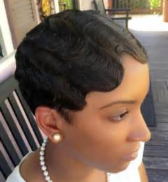 waves hairstyles black top 40 hottest very short hairstyles for women