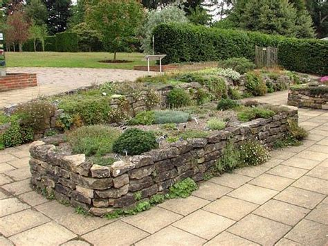 Raised Stone Garden Beds Raised Bed Stone Gardening Raised Raised Rock Garden Beds