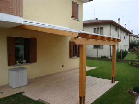 tende per tettoie in legno tettoie con tende motorizzate venezia lino quaresimin