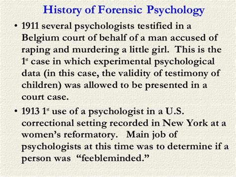 Forensic Psychology Description by Forensic Psychology Description What Is A Forensic Psychologist How To Become A