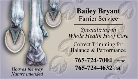 farrier business card templates farrier business cards images business card template