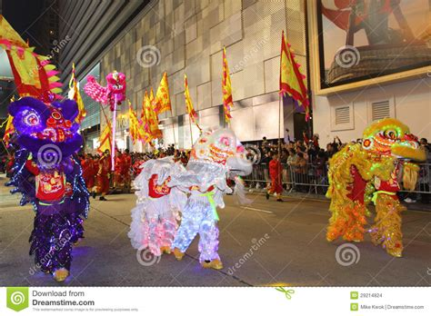 new year parade hong kong hong kong new year parade editorial photo
