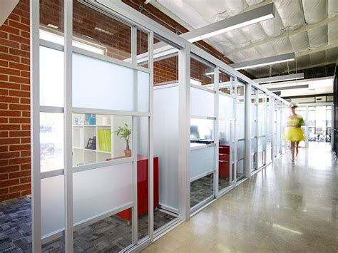 manufacture install glass office partitions cubicles