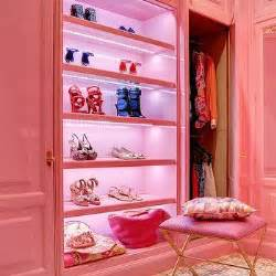 Pink Closet by Interior Design Inspiration Photos By Peacock Cabinetry