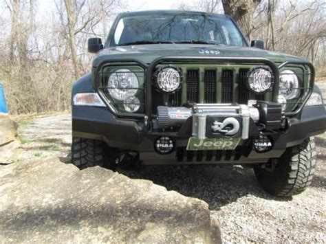 Jeep Liberty Bumper Front Bumper On Lostjeeps Jeep Liberty Kk